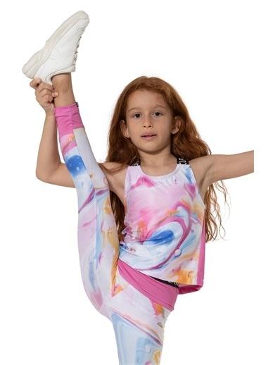 Colorinas Colorinas Stay Active Crop Top  Kız Çocuk Atlet Pembe